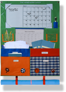 The Sports Homework Caddy